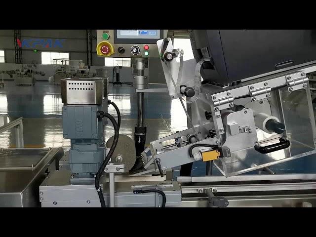 Automatische C-vormige Clamshell-etiketteermachine