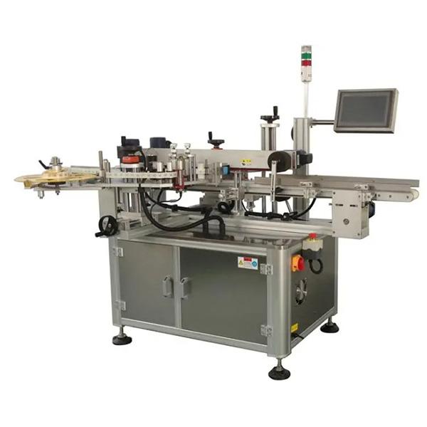 Automatische kartonnen hoek etiketteermachine - een- of tweezijdige kartonnen etiketteermachine