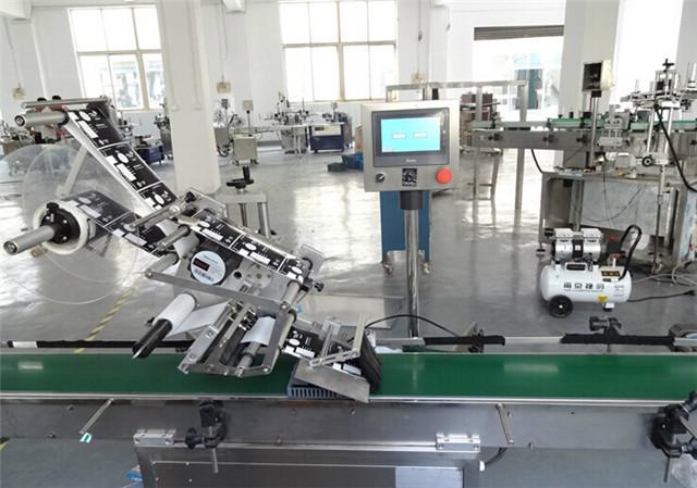 Automatische Etiketteringsmachines met Vlakke Oppervlakte Bovenkant voor Kartondozen Details