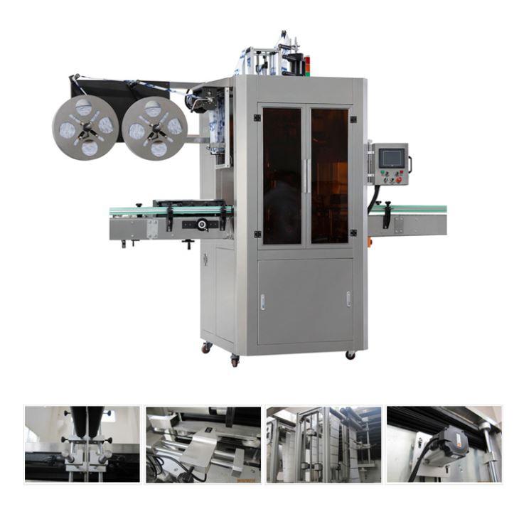 De automatische Koker van de de Theedrank van Vloeibaar Watersap krimpt Etiketteringsmachine