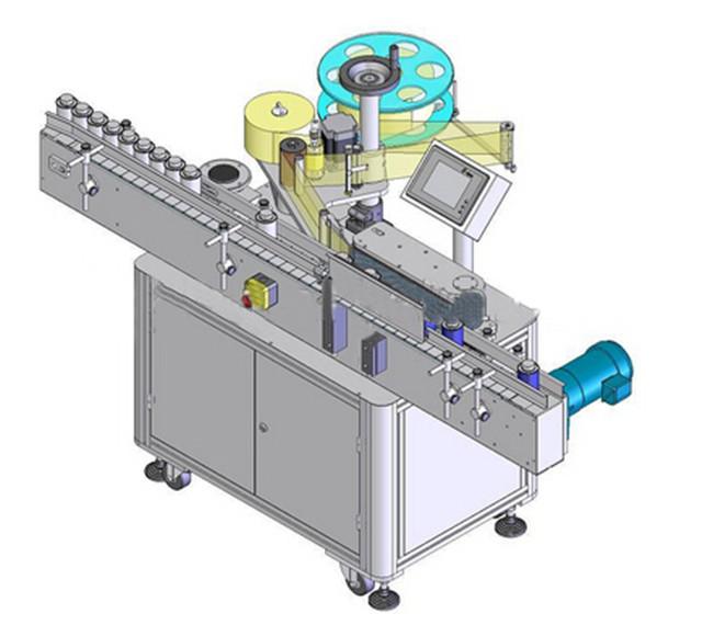 Automatische verticale etiketteermachine voor ronde flessen