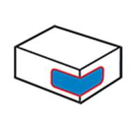 Kartonnen hoeklabelapparaat 1