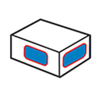 Kartonnen hoeklabelapparaat 2