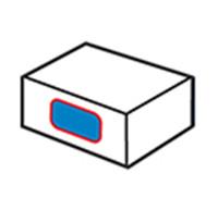 Kartonnen zijlabel 1