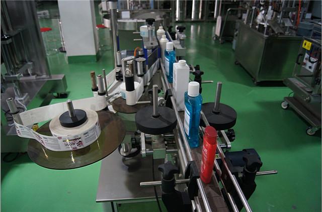 Configuratie van automatische etiketteermachine voor ronde flessen