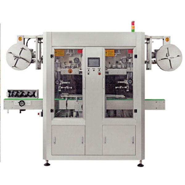 Dual Lane Automatische PVC-krimpkoker-labelapplicator-machine