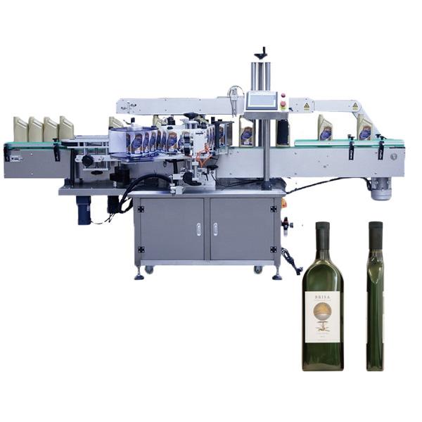 Etiketteringsmachine voor platte flessen