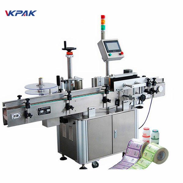 Volautomatische verticale etiketteermachine voor ronde flessen