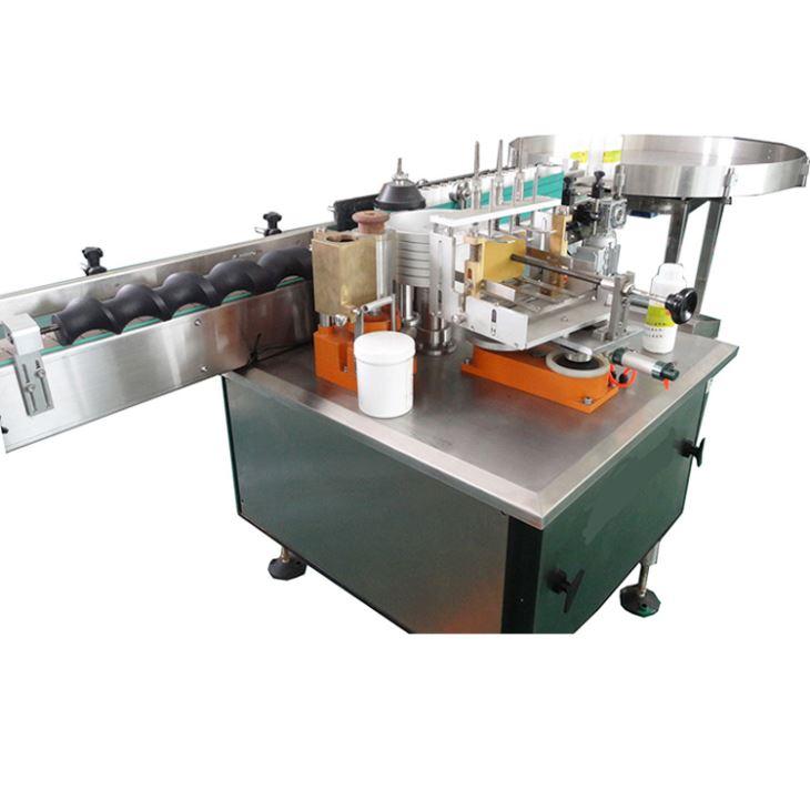 Volautomatische natte lijm papier label etiketteermachine voor alcoholproduct