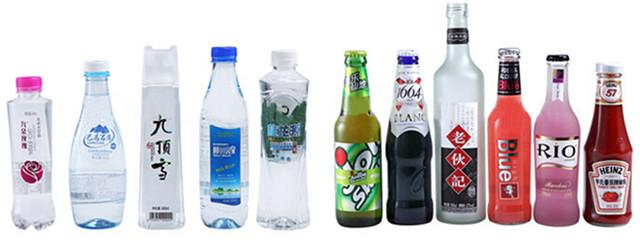 De volledig Automatische Plastic Flessen van het Hoge snelheids Roterende HUISDIER Etiketteringsmachine Typen flessen