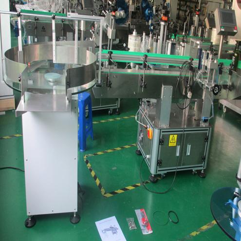 Hier zijn de eindproducten van Machines klaar voor verzending