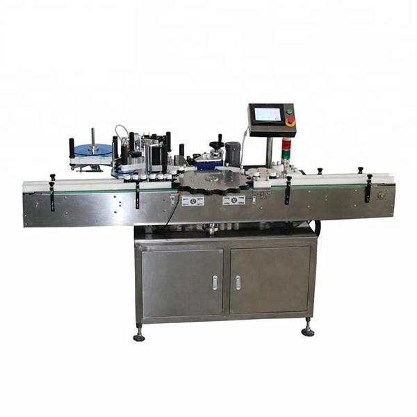 Hoge snelheid roterende oriëntatiepositie Automatische etiketteermachine