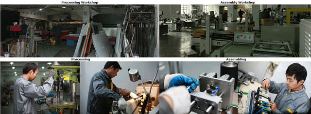 Machines labelen fabriek