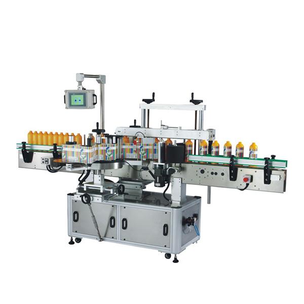 Ronde Fles Vierkante Fles Zelfklevende Sticker Etiketteringsmachine 100 BPM